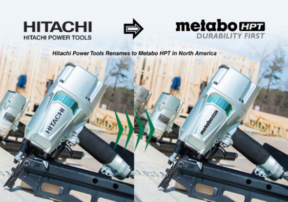 Hitachi Power Tools - это теперь Metabo HPT